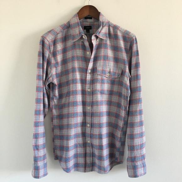 ebad1c9d J. Crew Shirts | Mens J Crew Slim Brushed Twill Shirt Size S | Poshmark